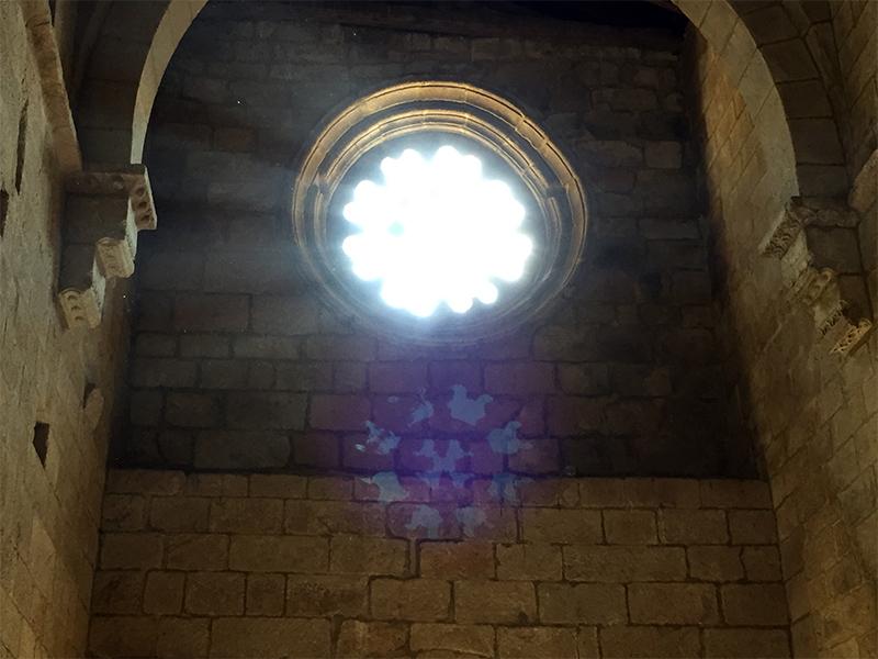 Efecto de luz en Sta Cristina