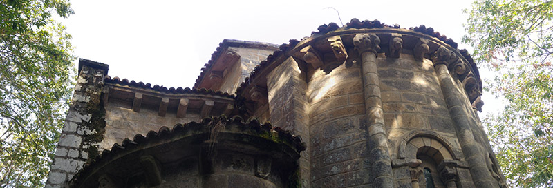 Monasterio de Sta. Cristina de Ribas de Sil, Parada de Sil